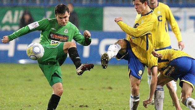 Dohrávka 17. kola Gambrinus ligy. FK Baumit Jablonec vyhrál v Teplicích 2:1.