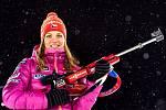 Jablonecká biatlonistka Jitka Landová