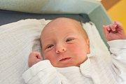 LUKÁŠ HUDSKÝ se narodil v neděli 15. dubna mamince Adéle Hudské z Turnova. Měřil 48 cm a vážil 2,7 kg.