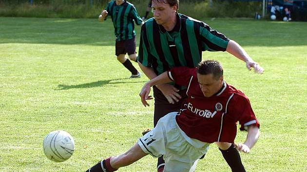 Fotbalisté Držkova doma porazili Horní Brannou.