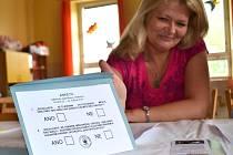 Anketa o osamostatnění jabloneckého Kokonína se konala současně s volbami do Evropského parlamentu.