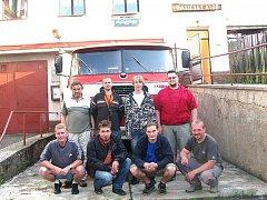 Členové výboru SDH Držkov.