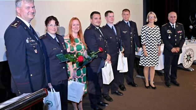 Za příkladnou službu byli oceněni příslušníci Policie České republiky Územního odboru Semily.