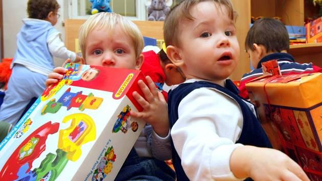 Vánoce v Dětském centru Sluníčko v Liberci