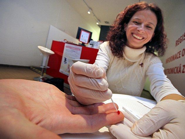 Test HIV není nijak složitý