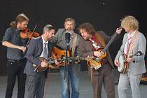 Německá bluegrassová kapela Münich String Band na festivalu Jablonecké tóny.