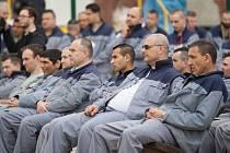 Vězni ve věznici Rýnovice