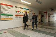 Pacienti v Nemocnici Jablonec nad Nisou, kteří splňovali zákonem stanovené podmínky, odevzdali 6. října svůj hlas ve volbách do Senátu Parlamentu České republiky.