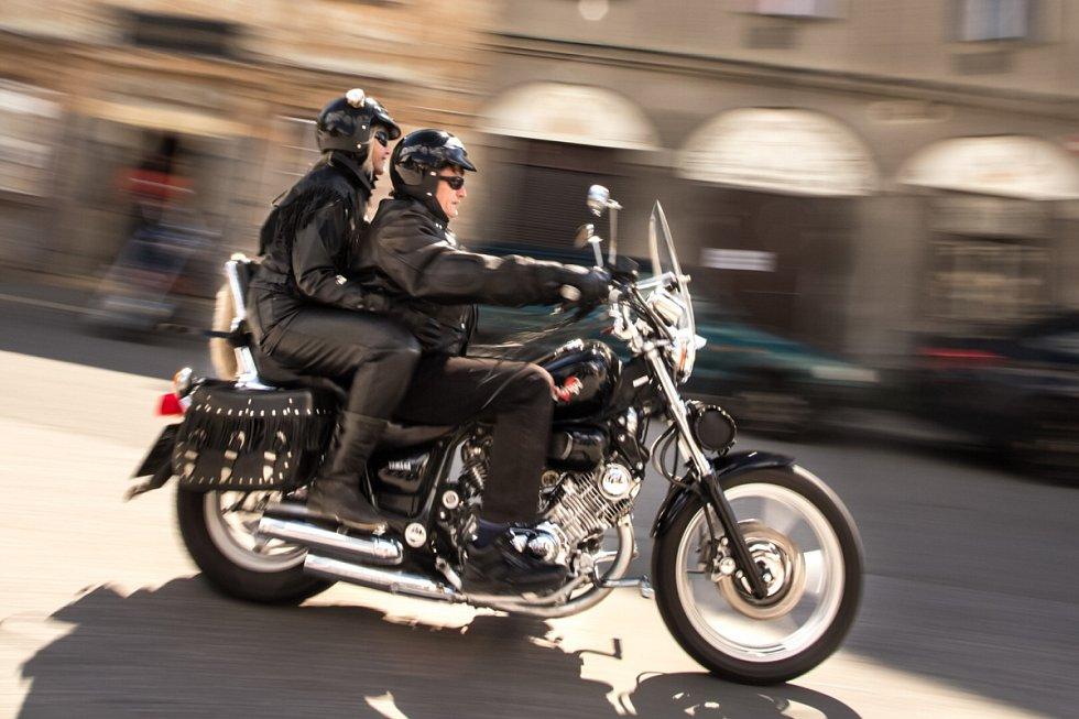 Zahájení motorkářské sezony.