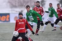 Ve druhém utkání jablonecké skupiny B letošní Tipsport ligy se utkala družstva FK Baumit Jablonec a FK Dukla Praha. Ve vyrovnaném a bojovném utkání se nakonec radovala z vítězství 1:0 Dukla Praha gólem střídajícího Lubomíra Blahy z 88. minuty utkání.
