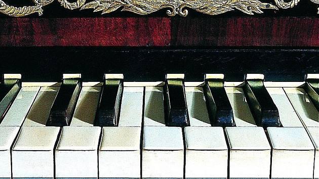 Klavír.  Ilustrační snímek.