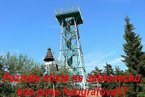 Poznáte místa na Jablonecku, kde jsme fotografovali?