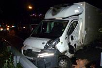 Nehoda na silnici I/65 u Rychnova.