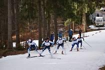 Organizátoři ze Ski Klubu Jablonec připravili i přes nedostatek sněhu, kvalitní podmínky pro další kolo Českého poháru dospělých a dorostu v lyžování.