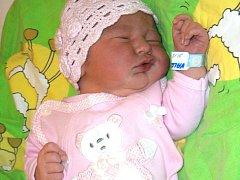 Natálie Valentová se narodila Janě a Janovi Valentovým z Liberce 21.12.2014. Měřila 51 cm a vážila 4150 g.