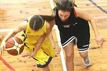 Jablonecké basketbalistky porazily doma Kladno.