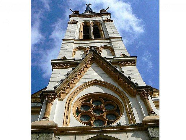 Kostel Dr. Farského vJablonci.