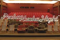 PechaKucha v Železném Brodě. V KC Kino