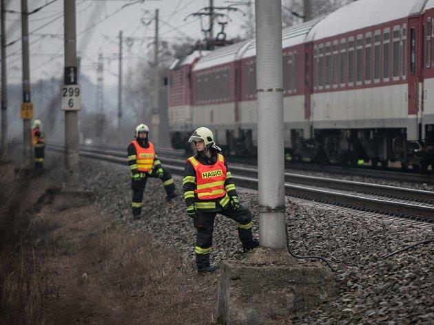 Smrt na kolejích. Ilustrační snímek