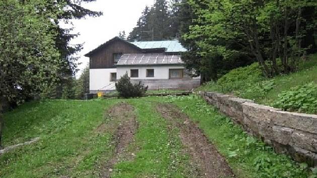 Prodávaná ubytovna na Horních Mísečkách