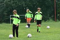 fotbalový kemp Lučany