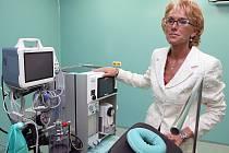 Primářka oddělení Kliniky u sv. Klimenta v Libreci MUDr. Ivana Bydžovská. Centrum od začátku října nabídne klientům už veškeré služby.