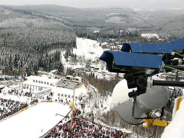 Lyžařské středisko Harrachov.