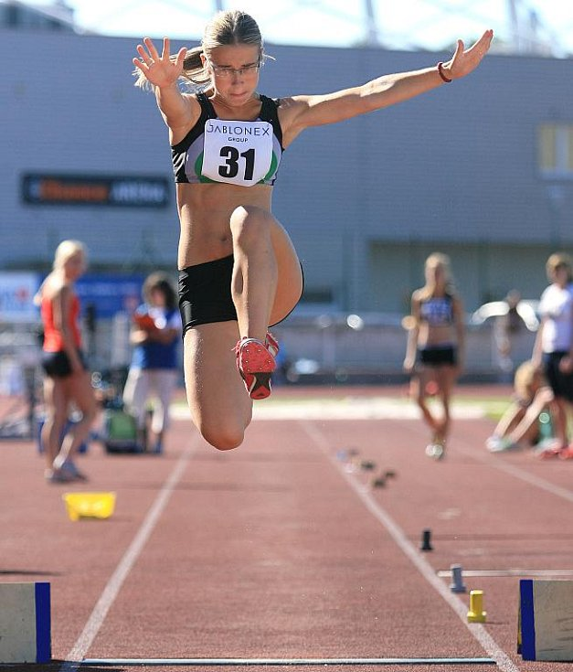 Jablonec hostil 25. ročník atletického mítinku Mladá Evropa.