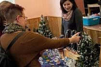 Vánoční trhy v Bzí.
