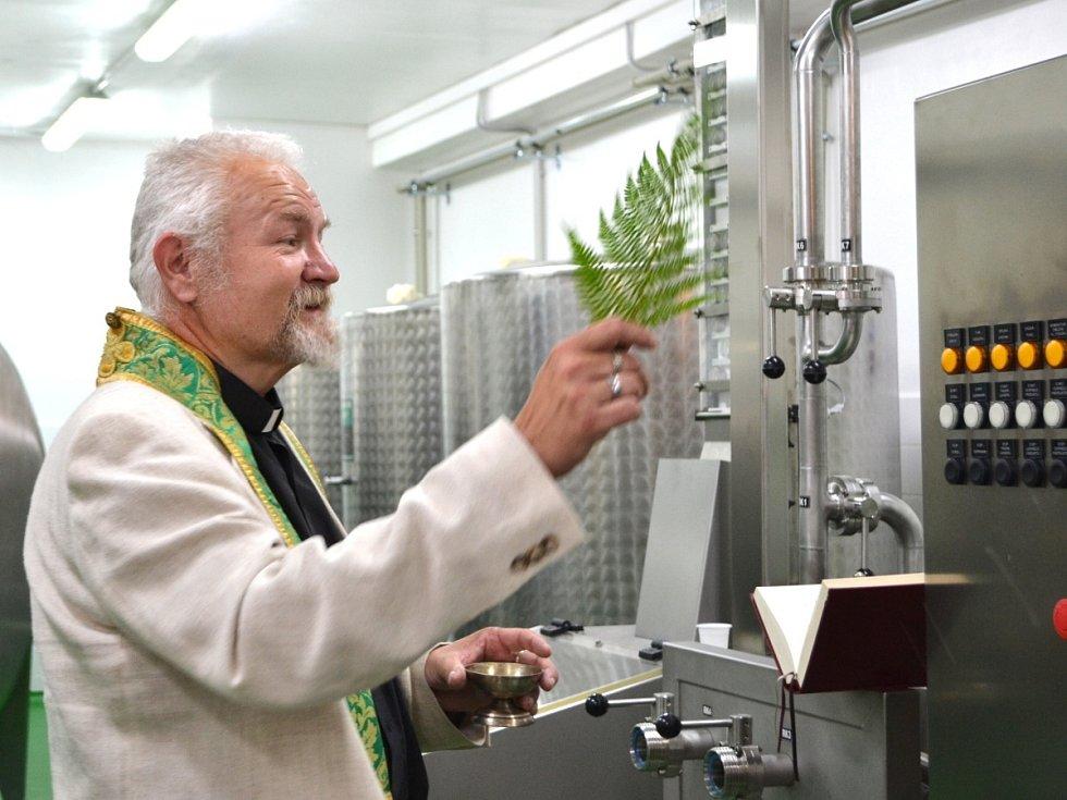 Lince požehnal starokatolický kněz Jan Peška