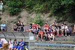 O každý bod krajského přeboru se na hřišti v Železném Brodě utkali v prvním zápase sezóny domácí se soupeřem z Turnova.