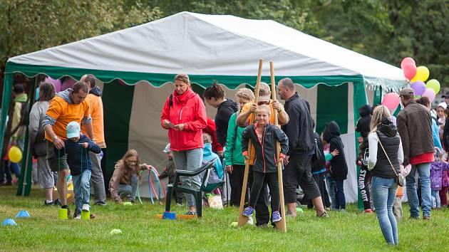 Tradiční dětský den u přehrady proběhl 3. září v Jablonci nad Nisou.