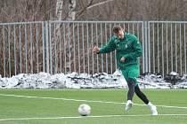 Fotbalový stoper Michal Jeřábek opustil Teplice a už trénuje v Jablonci. Foto: www.fkjablonec.cz