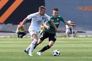 Evropská liga: Pjunik Jerevan - FK Jablonec 2:1.