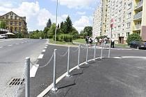Propojení ulic Mládí a Palackého ve Mšeně je hotové.