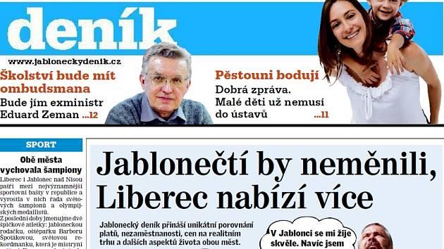 Liberec versus Jablonec nad Nisou. Kde je líp?