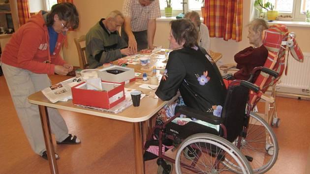 V hospicu v Čerčanech