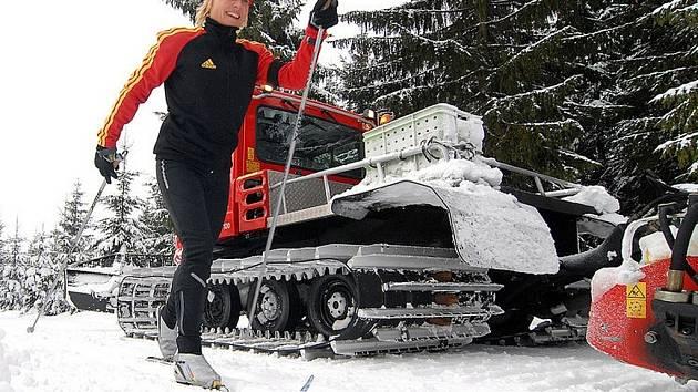 Zimní lyžařská sezona. Ilustrační snímek.