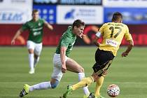 Z utkání FK Jablonec - MFK Karviná
