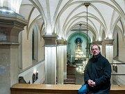 Kostel sv. Antonína Velikého by se mohl stát duchovním i kulturním centrem města, říká farář Radek Jurnečka.