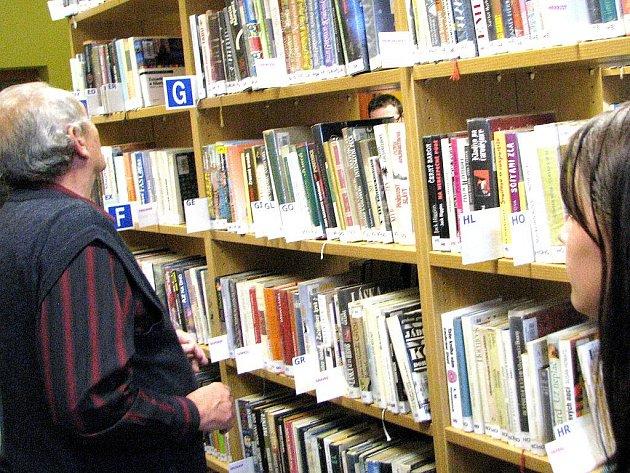 Knihovna ve Smržovce. Ilustrační snímek.