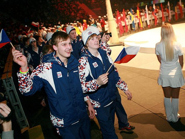 Slavnostní zahájení EYOWF 2011 v Tipsport areně v Liberci.