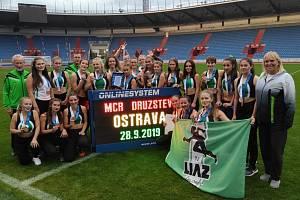 V Ostravě bojovaly jablonecké atletky o medaile.