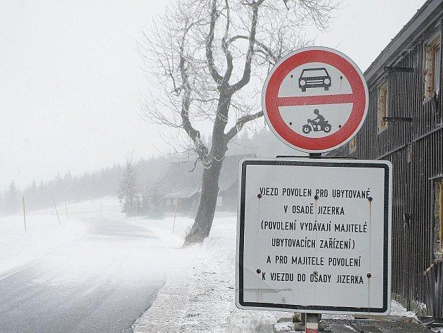 Nejvýše položená osada v Jizerských horách - Jizerka.