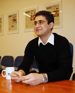 V LIBERCI SE MU LÍBÍ. Asem Zalmat žije ve městě pod Ještědem už 11 let.