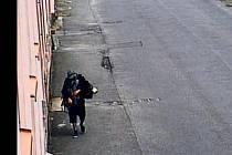 Pravděpodobný pachatel vloupání na fotografii z kamerového systému