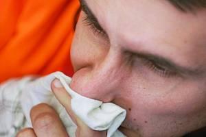 Chřipka a nachlazení. Ilustrační snímek.