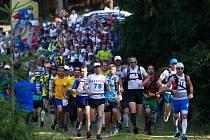 Extrémní závod Jizerský ultratrail v roce 2014