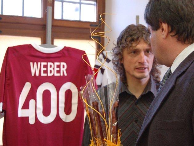 Na výstavě se objevil i kapitán FK Jablonec 97 Josef Weber.