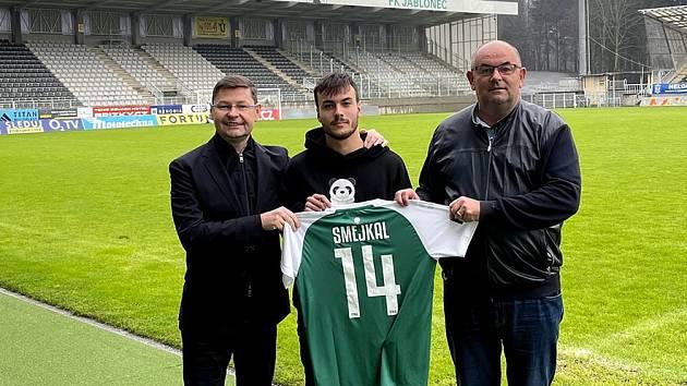 Tomáš Smejkal na jablonecké Střelnici.